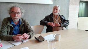 Niels Rosendal og Henrik Hedin