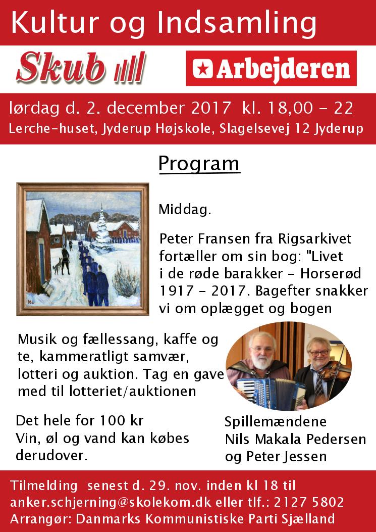 Plakat for arr. i Jyderup