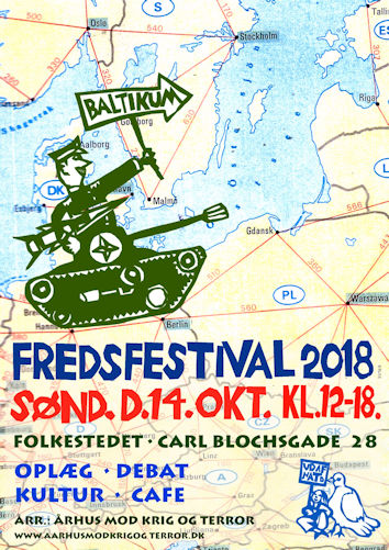 Plakat for fredsfestival